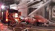 Canadian Crews Battle Frigid Weather at Four-Alarmer