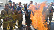 Firefighters Arrive in San Diego For Firehouse World