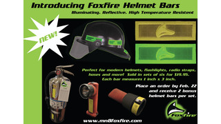 MN8-Foxfire Introduces Illuminating Helmet Bars