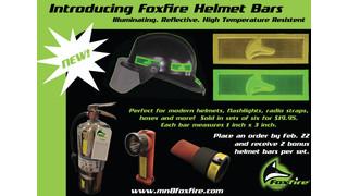 MN8-Foxfire Introduces Illuminating Helmet Bars