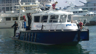 San Diego Harbor Police Provides Fire, Rescue Protection on Water