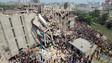 Bangladesh Factory Collapse Kills at Least 87