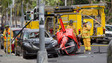 Small Helicopter Crashes in Downtown Honolulu