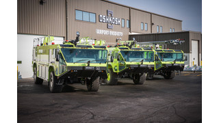 Three Oshkosh Striker ARFFs Delivered to New Guinea