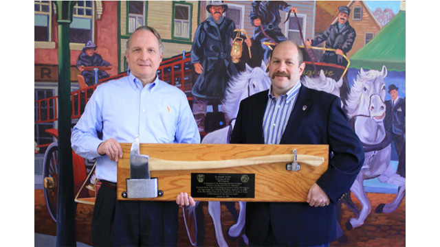 FDNY Recognizes Seagrave For Support During Superstorm Sandy