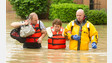 Ind. Crews Pull Residents from Floodwaters