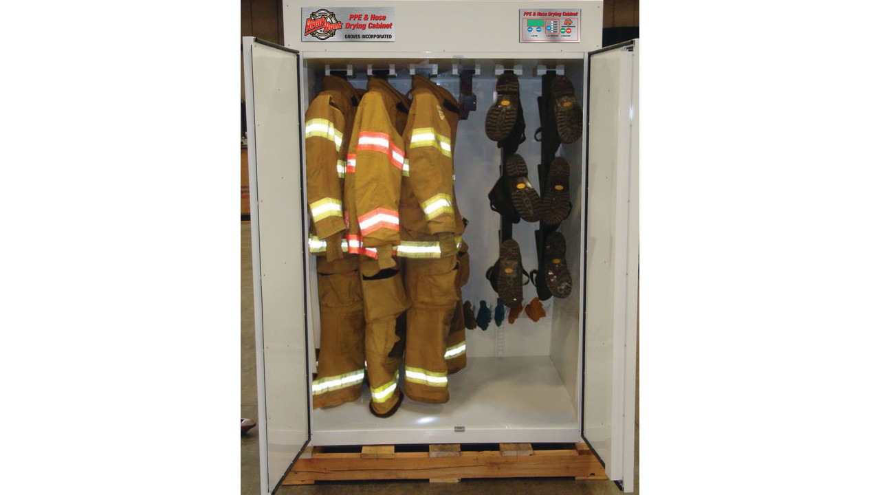 Ready Rack Introduces Ppe Hose Drying Cabinet And Hose