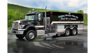 Showcase: Etna, N.Y. F.D. Puts Pumper/Tanker in Service