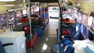 Bus Stretcher Conversion Kit Available From First Line Technology