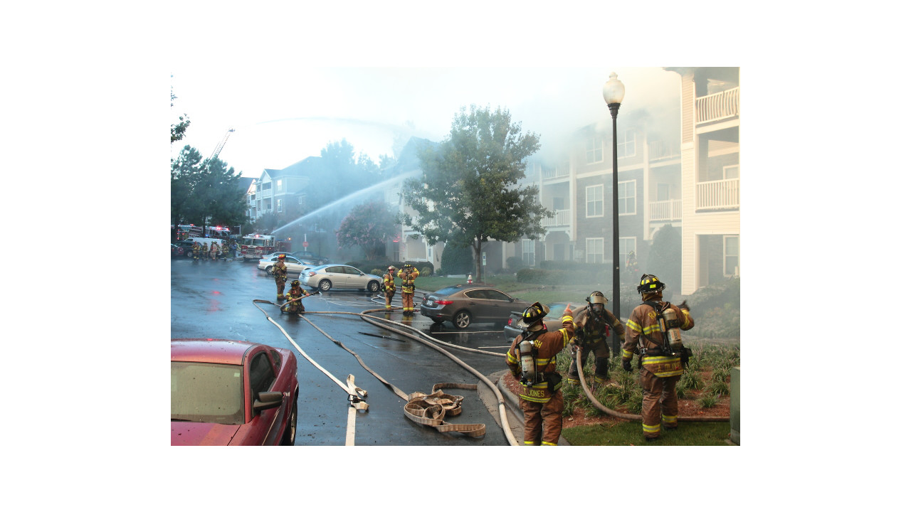 Two Alarm Fire Damages Raleigh Apartment Building Firehouse
