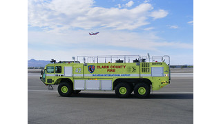 Oshkosh Delivers 1,000th Striker ARFF to Vegas