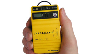 Airspace Redesigns CO And Flammable Gas Detectors