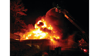 On The Job Michigan: Four-Alarm Fire Destroys Historic Lodge in Muskegon County
