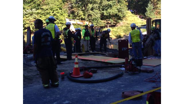 Trench-Rescue-gear-near-hole.JPG