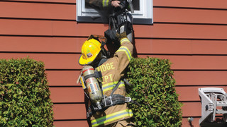 Cover Story: Firefighters Bail Out to Safety At New Jersey House Fire