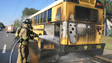 Fire on School Bus Injures Two Children in Florida