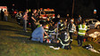 Photo Story: One Extricated from N.Y. Crash Scene