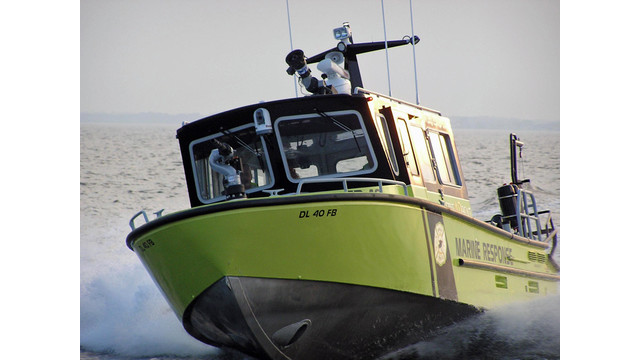 Showcase: New Fire Boat Delivered to Bowers, Del.