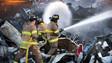 Photo Story: Blaze Erupts at Texas Scrap Plant
