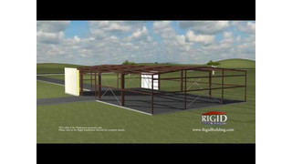Rigid Global Buildings Installation / Erection of a Metal Building