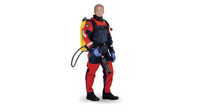 DUI TLS350 Public Safety Drysuit