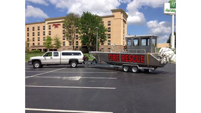 Stanley 24 Fire Rescue Landing Craft
