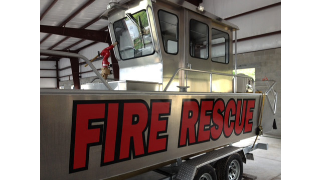 Stanley Boats, 24' Fire Rescue