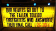 Nation Shows Support for Toledo's Grief