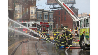On The Job Pennsylvania: 31 Departments Respond To 3-Alarm Fire At Darby Market
