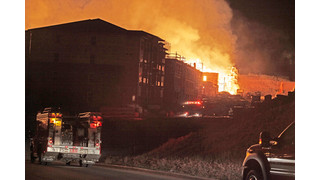 On The Job Washington State: Arson Fire Destroys Apartment Complex Under Construction