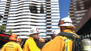 Cover Story: 3 Firefighters, 5 Residents Injured in L.A. High-Rise Fire