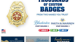 Witmer Offers On-Line Custom Badge Portal