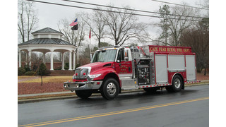 Showcase: Cape Fear (N.C.) Rural FD Gets New Pumper