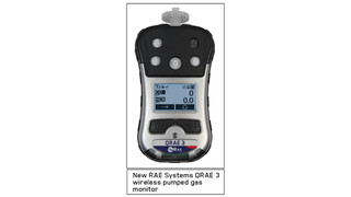 RAE System Offers New, Wireless Four-Gas Monitor