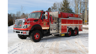 Showcase: Sandwich, N.H. Puts Pumper/Tanker With CAFS in Service