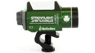 Streamlight Offers 'Irish' Green Helmet Light