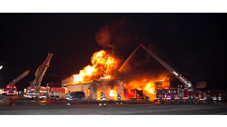 On The Job Illinois: Four-Alarm Fire Destroys Northlake Tire Shop