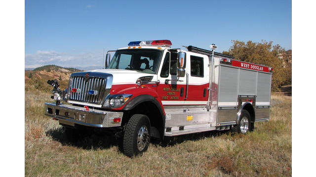 Apparatus Showcase: Type 1 Engine Delivered to West Douglas, Colo.