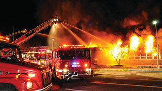 New Jersey: Six-Alarm Fire Destroys Unoccupied Elementary School