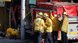 Calif. Fire Trucks Collide, Sending One into Restaurant