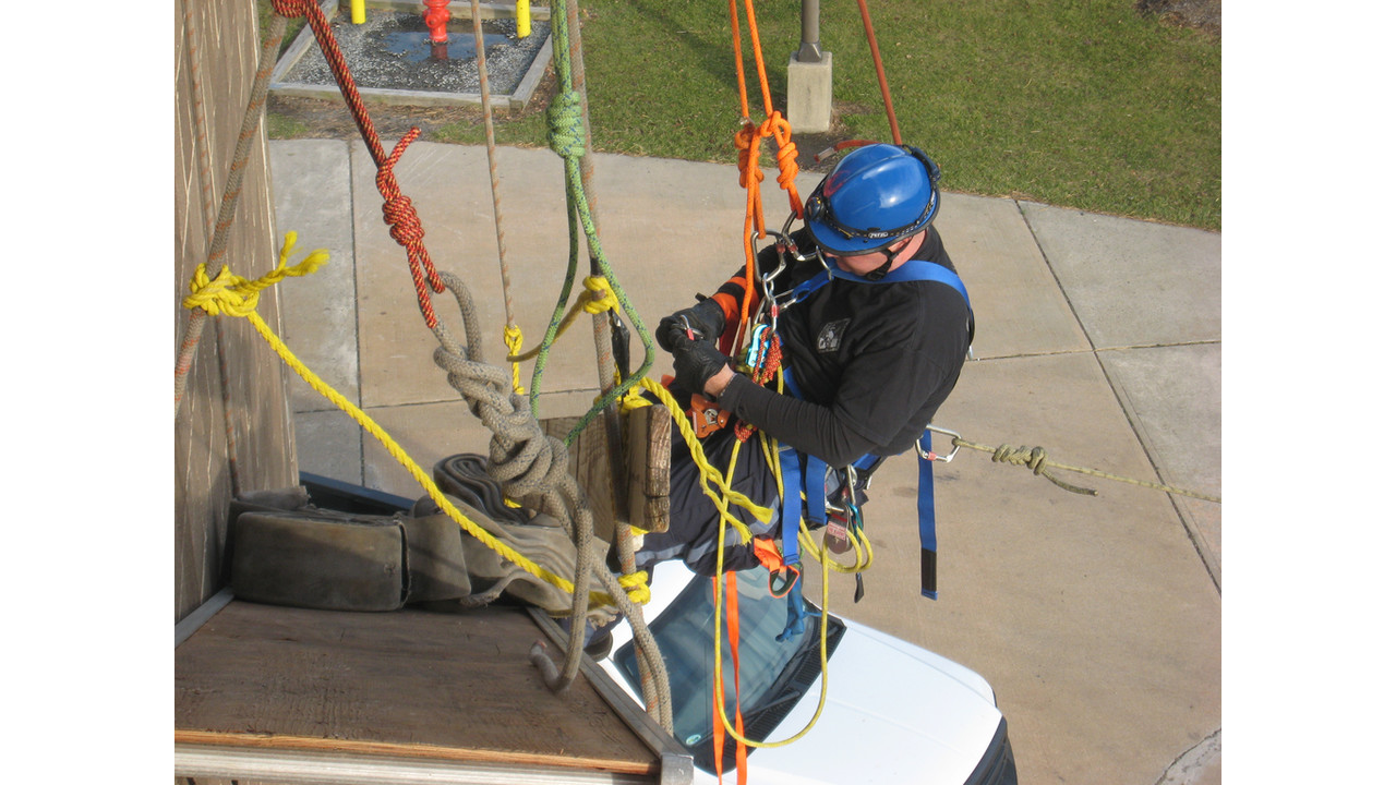 Technical Rescues With Ropes Firehouse
