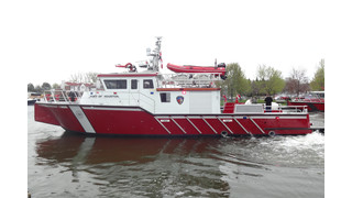 Houston Fireboat to Navigate From Lake Michigan to Texas