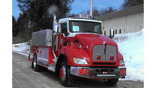 Apparatus Showcase: Big Tanker Rolls Into Pompey, N.Y.