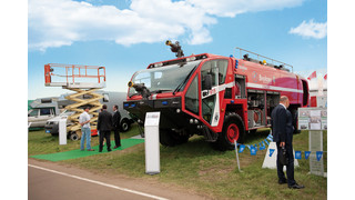 New Generation of Oshkosh Striker on Duty in Moscow