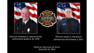 Toledo Firefighters Still Gripping with Their Loss