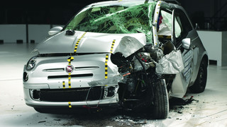 University of Extrication: Small Overlap Frontal Crash Testing