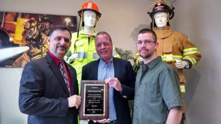 Globe Mfg. Makes Donation to N.H. Cancer Hospice Centers