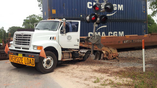 Photo Story: Train Slams into Truck in Florida