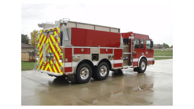 Apparatus Showcase: Pumper/Tanker Makes Way to Rapid City, S.D.