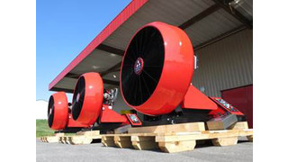 LEADER Introduces New Easy 4000 Large Flow Fan